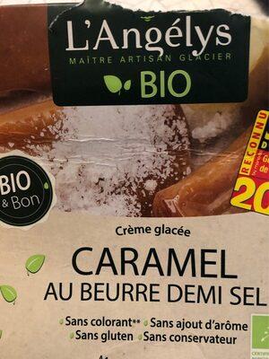 Crème glacée Caramel au beurre demi sel
