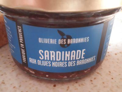 Sardinade aux olives noires des baronnies