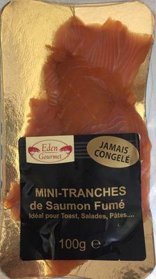 Mini-tranches de saumon fumé