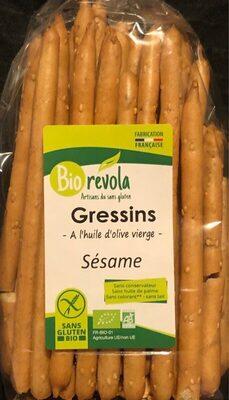 Gressins à l'huile d'olive sésame