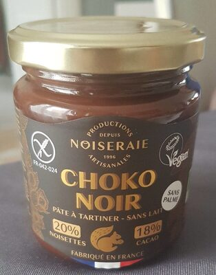 Pâte à tartiner Choko Noir