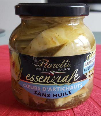 Coeur d'artichauts sans huile