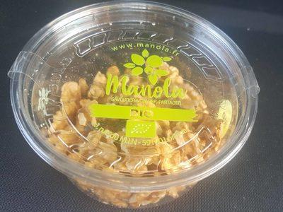 Créneaux de noix franquette bio