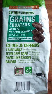 Café équateur Grains Bio & équitable