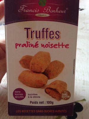 Truffes praliné noisette