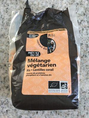 Mélange Végétarien Riz & Lentilles Corail