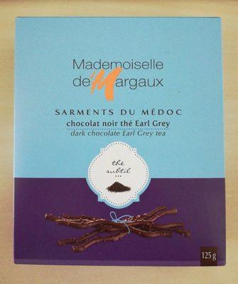 Brins De Chocolat Noir Aromatisés Thé Bergamote