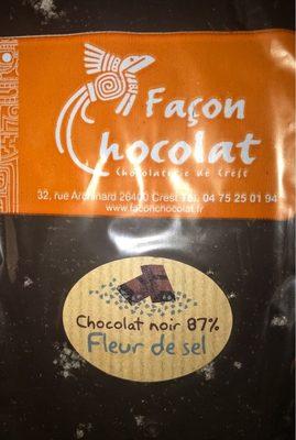Tablette chocolat noir 87%