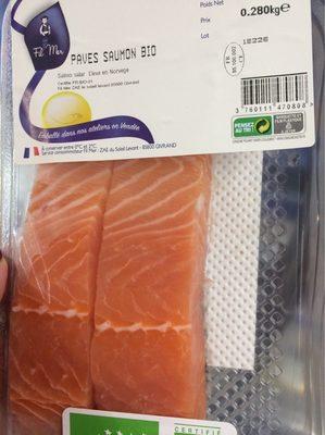 Pave saumon bio