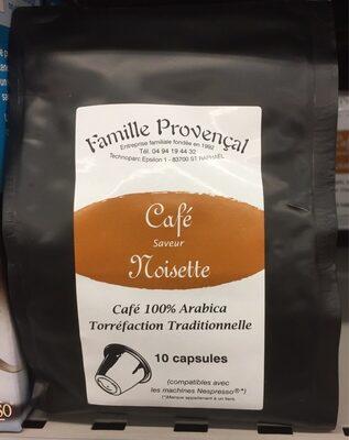Cafe saveur noisette