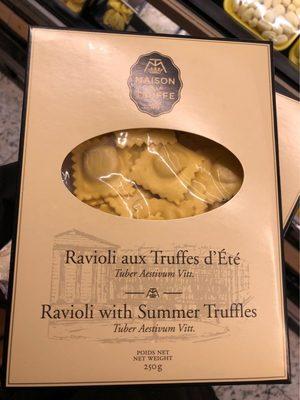 Ravioli aux truffes d'été