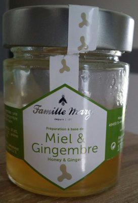Préparation à base de miel et gingembre