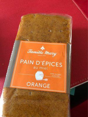 Pain d'epices Orange