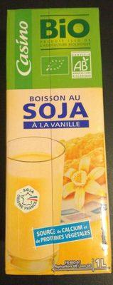 Boisson soja à la vanille