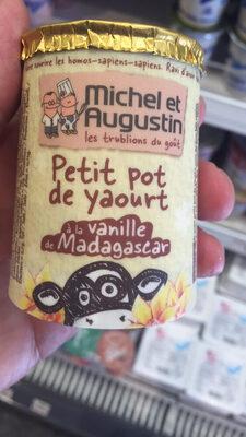 Petit Pot de Yaourt Vanille de Madagascar
