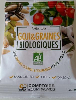 Mix de Goji & Graines Biologiques