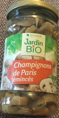 Champignon de Paris émincés