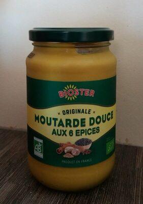 Moutarde douce aux 6 épices