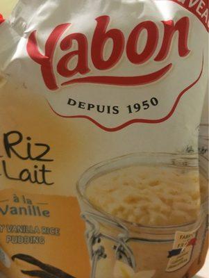Mon riz au lait