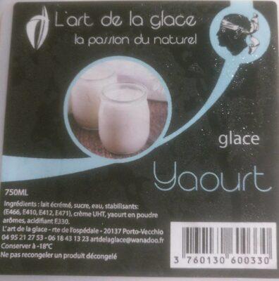 L'art de la glace saveur yaourt