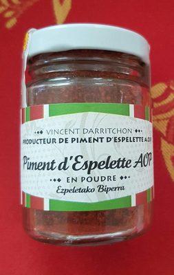 Aoc Piment D'espelette