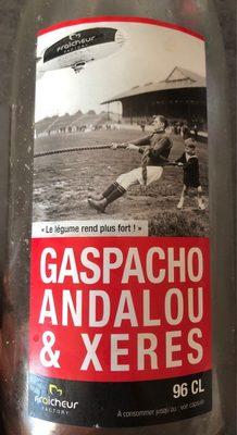 Gaspacho Andalou et xetes