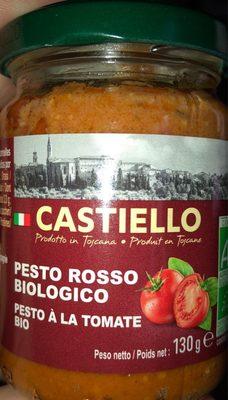 Pesto à la tomate bio