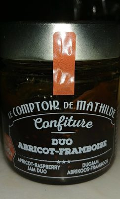 Confiture duo Abricot-Framboise