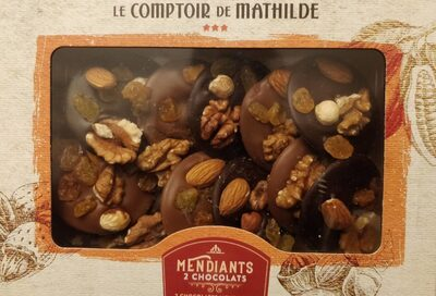 Mendiants - 2 chocolats