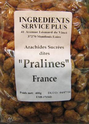 Arachides Sucrées dites Pralines