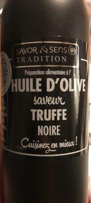 Huile d'olive saveur truffe