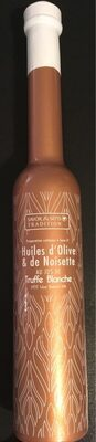 Huiles d'olive & de noisette au jus de truffe blanche