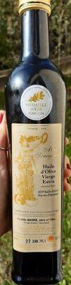 Huile d'olives AOP Aix-en-Provence