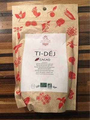 Ti Déj Cacao Bio - 350 G - Sol Semilla