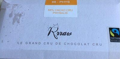 68% cacao cru