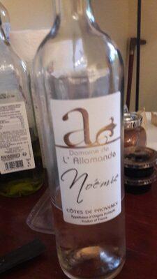 Vin rosé cote de Provence
