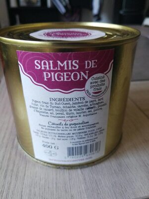 Salmis de pigeon