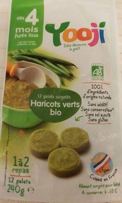 Purée de haricots verts bio surgelée lisse - Dès 4 mois