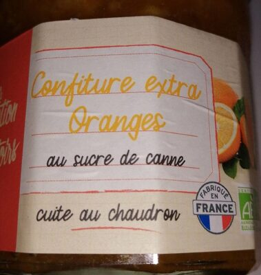 Confiture extra d'oranges