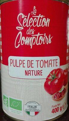 Pulpe de tomate nature