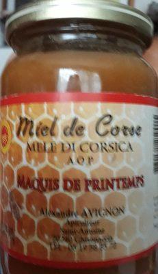 Miel de Corse AOP