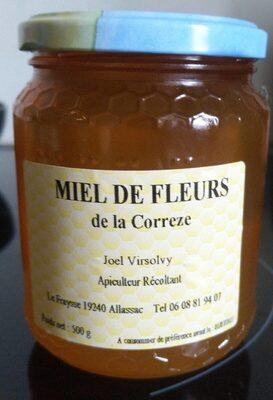 Miel de fleurs de la Corrèze