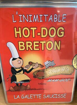 Galettes fines hot dog boite A4