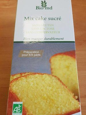 Mix cake sucré