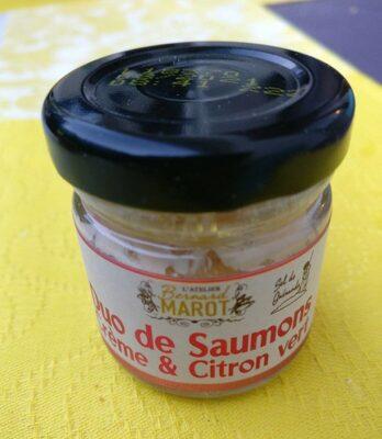 Duo de saumons - Crème et citron vert