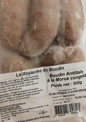 Boudin antillais
