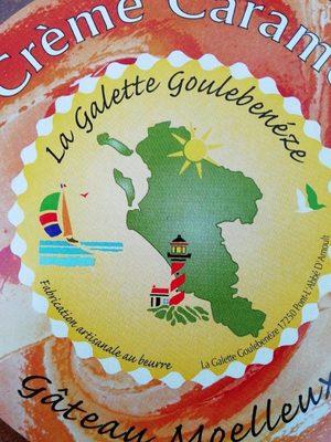 La Galette Goulbeneze Crème caramel