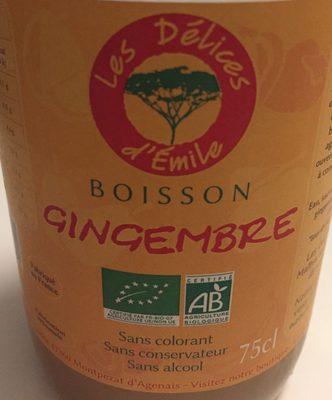 Boisson gingembre