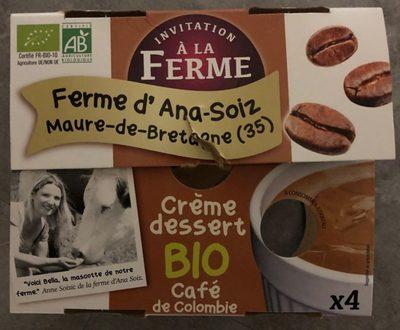 Crème au café ferme d'Ana-Soiz
