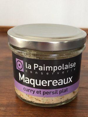 Maquereaux curry et persil plat